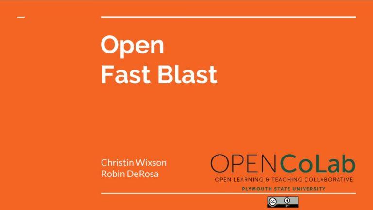 thumbnail of OPEN-Fast-Blast