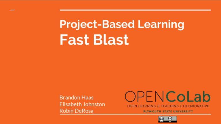 thumbnail of PBL-Fast-Blast