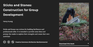 Image of landing page for Sticks & Stones by Henry Huang