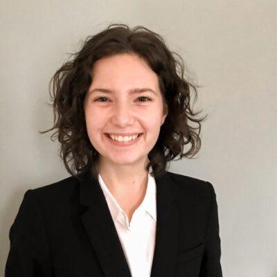photo of smiling white woman