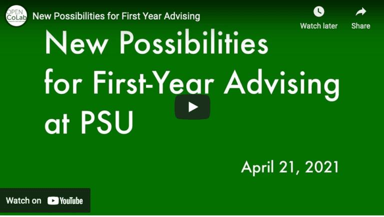 slide on advising